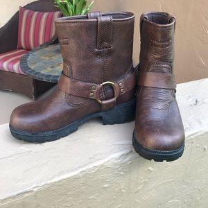 Harley Davidson Short Leather Moto boots